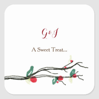 Charming Berry Sweet Treat Stickers