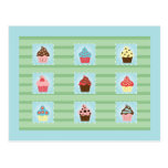 Charming Cupcakes Postcards
