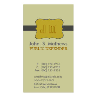 Charming Designs Business Card Template