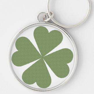 Charming Lucky Clover Keychain
