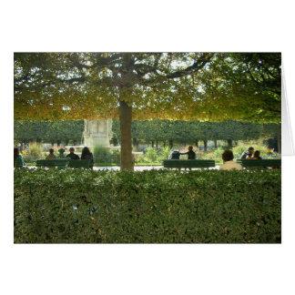Charming Parks of Paris Card