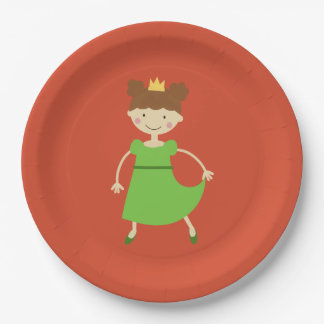 Charming Princess Paper Plate