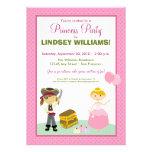 Charming Princess & Pirate Party Invitation