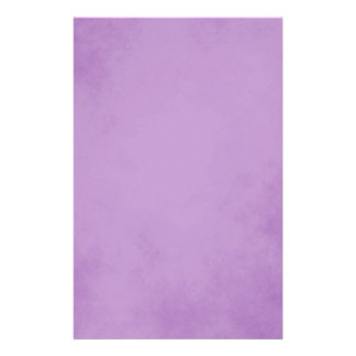 Charming Purple Parchment Stationery Design