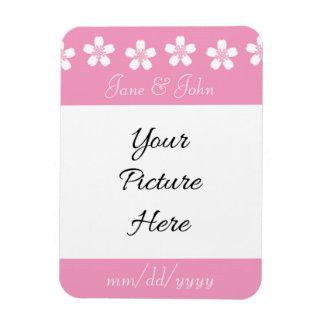 Charming Sakura in Petal Pink Save-the-Date Magnet