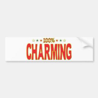 Charming Star Tag Bumper Sticker