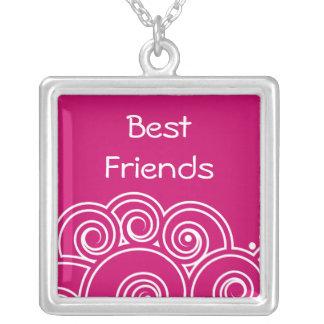 Charming Swirl Best Friends Necklace