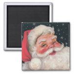 Charming Vintage Santa Claus Magnet
