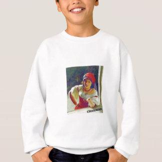 charming woman fair sweatshirt