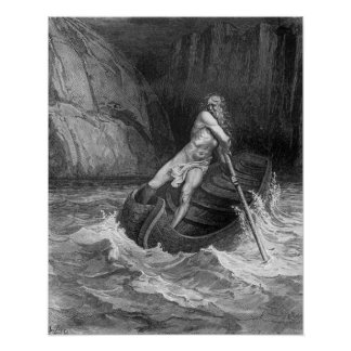 Charon the Ferryman of Hell Posters
