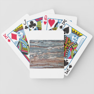 Charred Pine Bark Bicycle Playing Cards