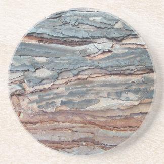 Charred Pine Bark Coaster