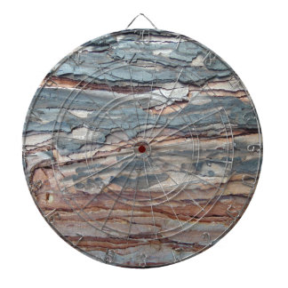 Charred Pine Bark Dartboard