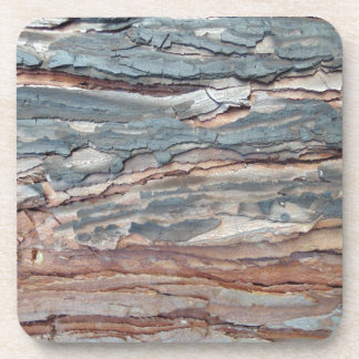 Charred Pine Bark Drink Coaster