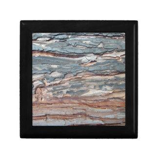Charred Pine Bark Gift Box