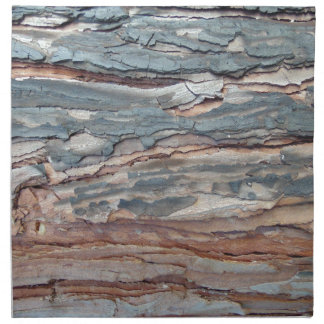 Charred Pine Bark Napkin
