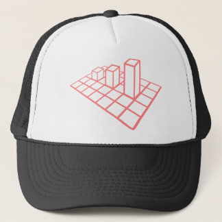 Chart Growth Trucker Hat
