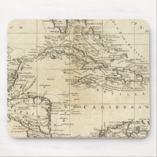 Chart of the West Indies 2 Mouse Pad