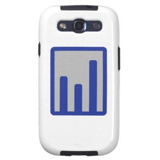 Chart statistics icon galaxy s3 cases
