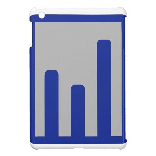 Chart statistics icon cover for the iPad mini