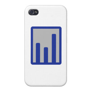 Chart statistics icon iPhone 4/4S cover