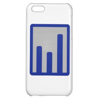 Chart statistics icon cover for iPhone 5C
