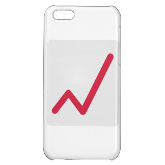 Chart statistics icon iPhone 5C case
