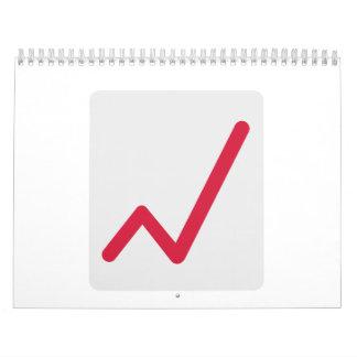 Chart statistics icon calendar