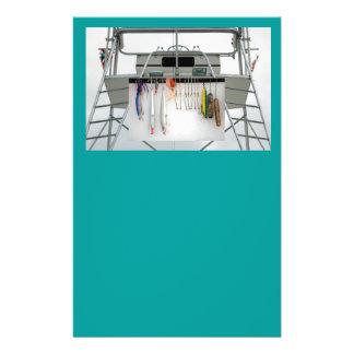 charter fishing boat 14 cm x 21.5 cm flyer