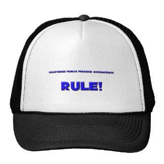 Chartered Public Finance Accountants Rule! Mesh Hat