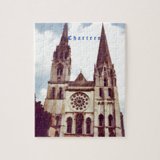 Chartres Cathedral Jigsaw Puzzle
