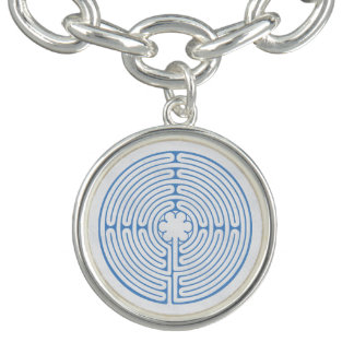 Chartres Labyrinth Blue