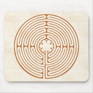 Chartres Labyrinth Mouse Pad