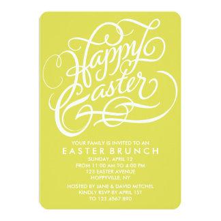 CHARTREUSE HAPPY EASTER | EASTER BRUNCH INVITATION