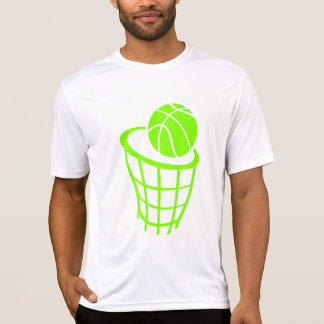 Chartreuse, Neon Green Basketball T-Shirt