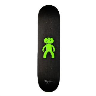 Chartreuse Neon Green Cowboy Skate Decks