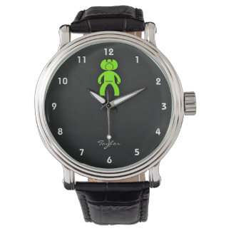 Chartreuse, Neon Green Cowboy Watch