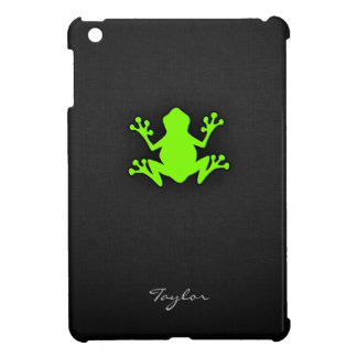 Chartreuse, Neon Green Frog Case For The iPad Mini