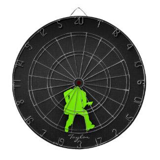 Chartreuse Neon Green Rocker Dart Boards