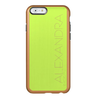 Chartreuse Solid Color Incipio Feather® Shine iPhone 6 Case