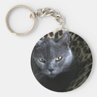 Chartreux  (karthuizer) key ring