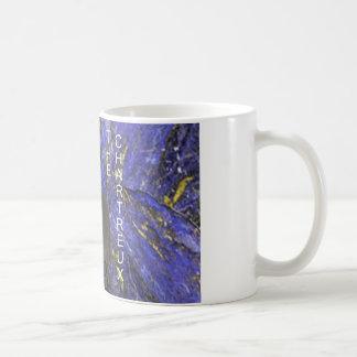 Chartreux on Bluestone (white) Coffee Mug