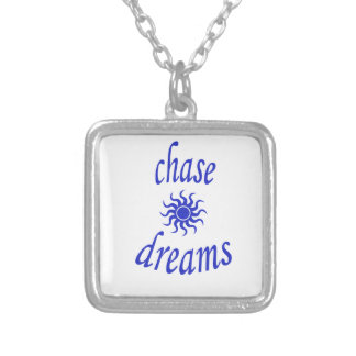 Chase Dreams Silver Plated Necklace