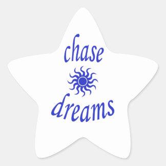 Chase Dreams Star Sticker