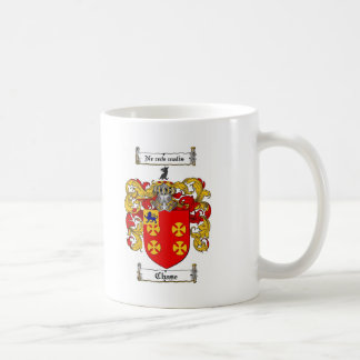 CHASE FAMILY CREST -  CHASE COAT OF ARMS COFFEE MUG
