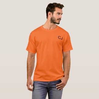 Chase Johnston orange t shirt