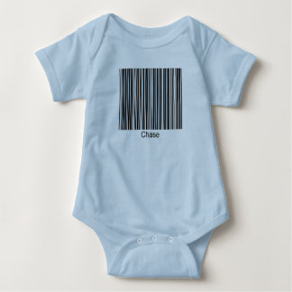 Chase Personalized Functional Barcode Tee
