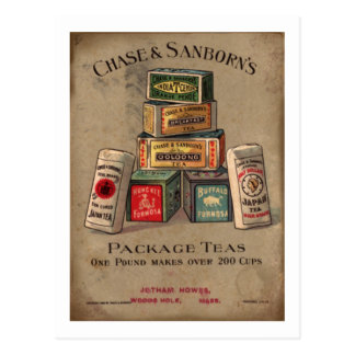 Chase Sanborn s Tea Postcards