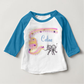 Chasing Butterflies by The Happy Juul Company Baby T-Shirt