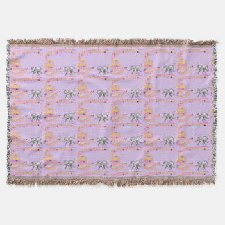 Chasing Butterflies by The Happy Juul Company Throw Blanket